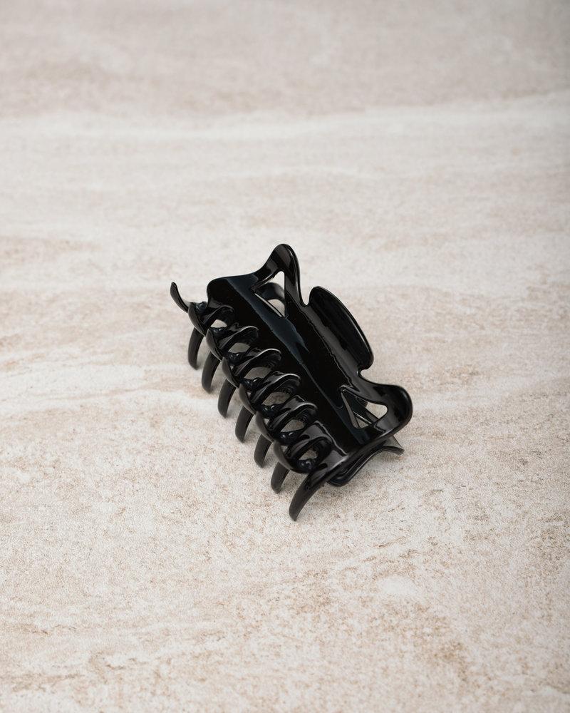 Claw Clip Rubber Black