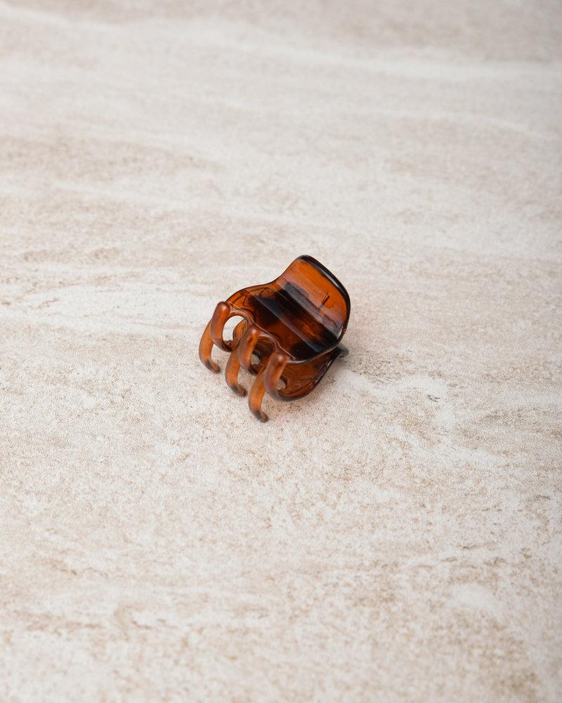 Claw Clip Anti-Slip Brown