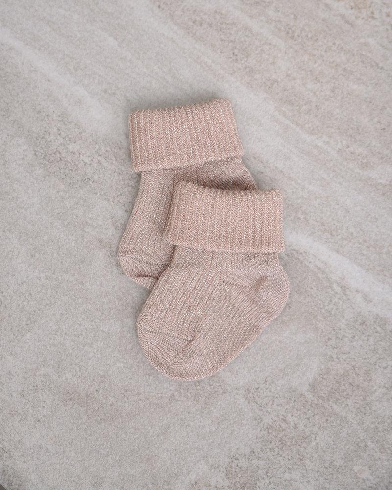 Baby Socks Ida Glitter Rose Dust