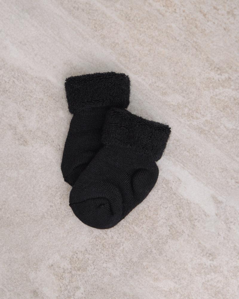 Baby Socks Terry Black