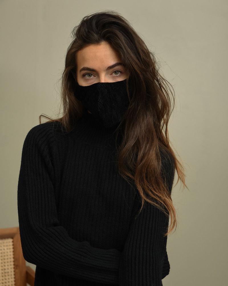 TILTIL Velours Face Mask Black