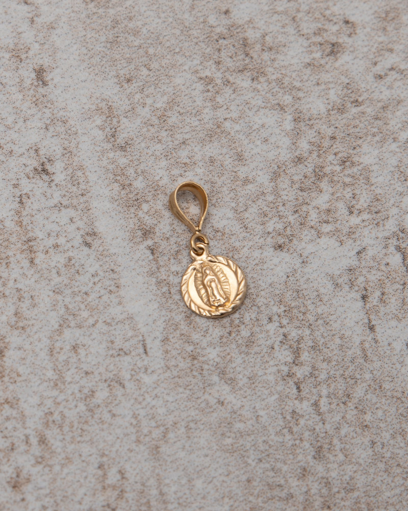 Necklace Charm Lady Mary (S) Goldfilled