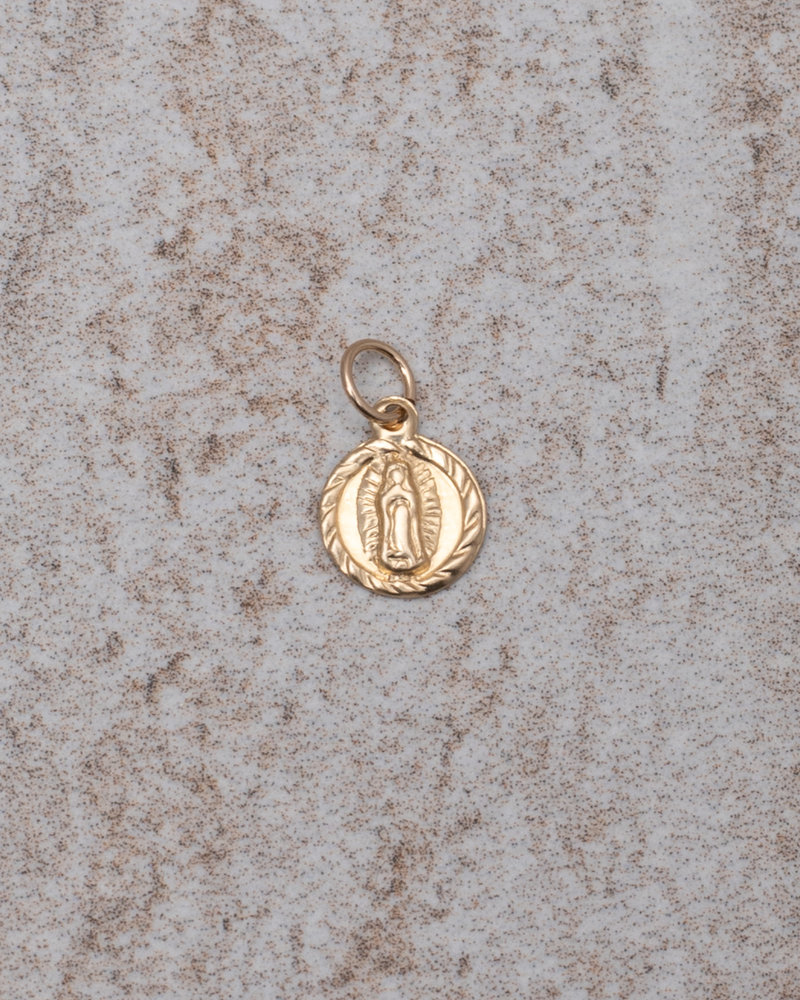 Earring charm Lady Mary (S) Goldfilled