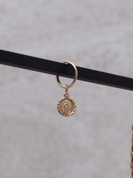 The Two Collectors Earring charm Lady Mary (S) Goldfilled