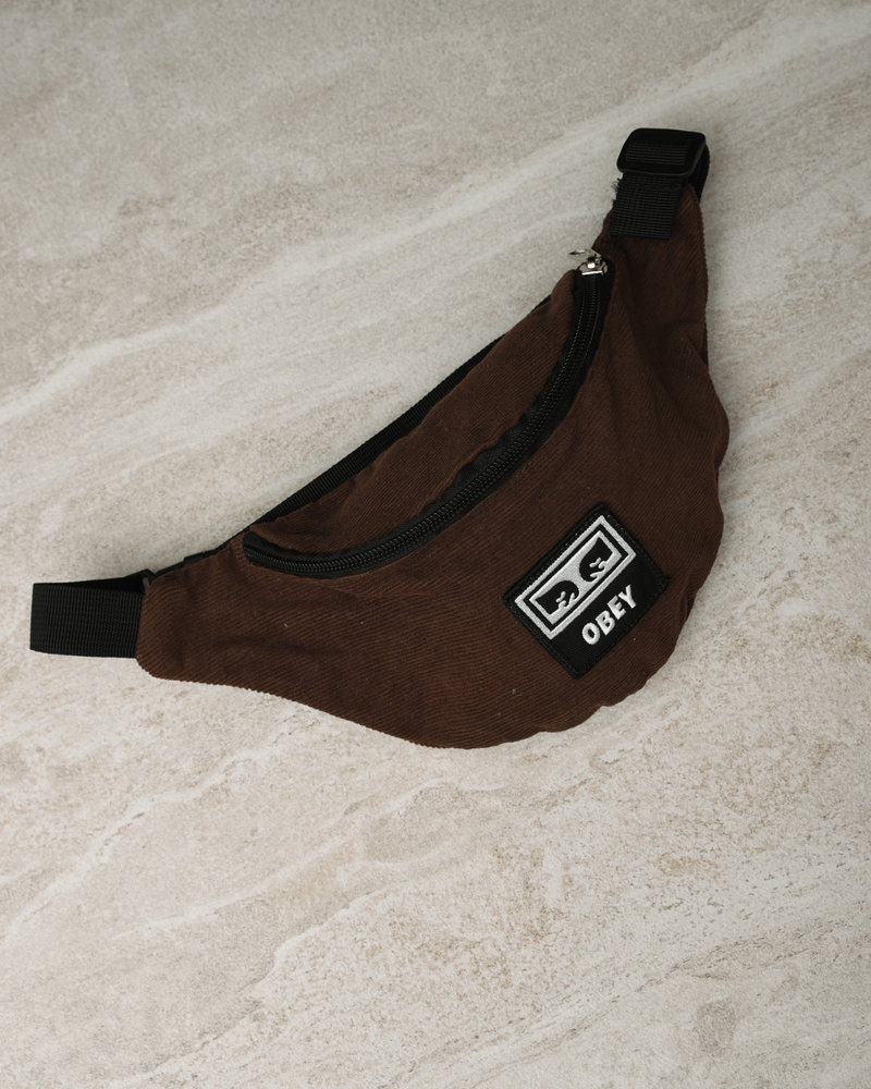 Wasted Hip Bag Brown
