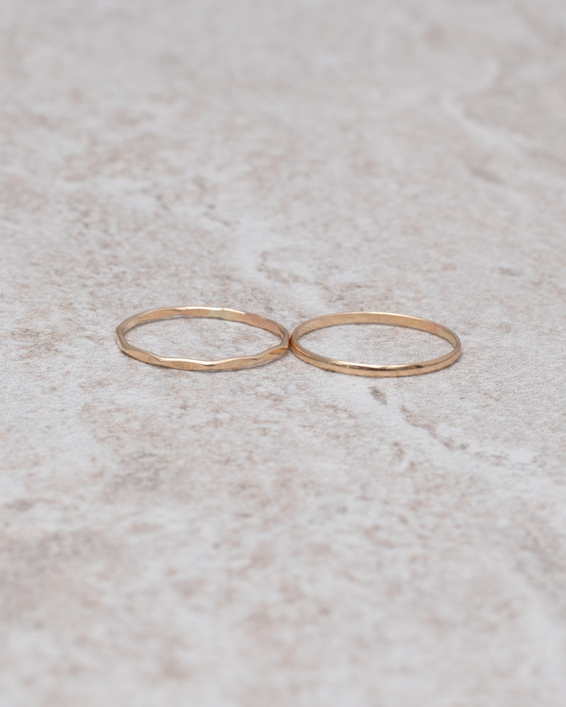 Rocky Ring Goldfilled