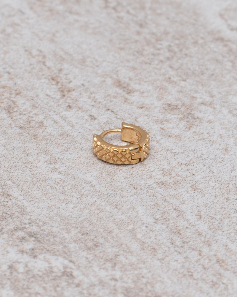 Python Hoop Gold