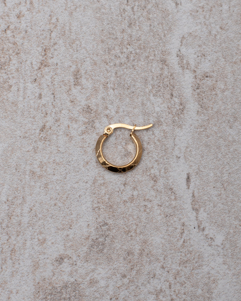 Rosa Hoops 10MM Gold