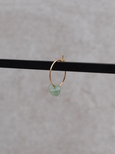 Ess Yello Jade Green Mini Hoop