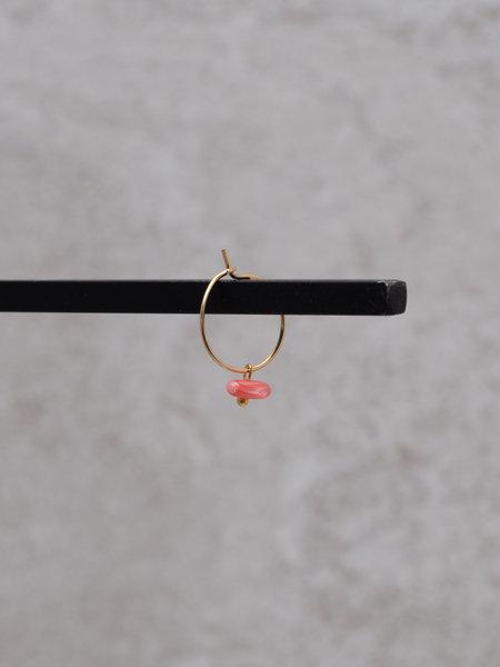 Ess Yello Pink Coral Mini Hoop