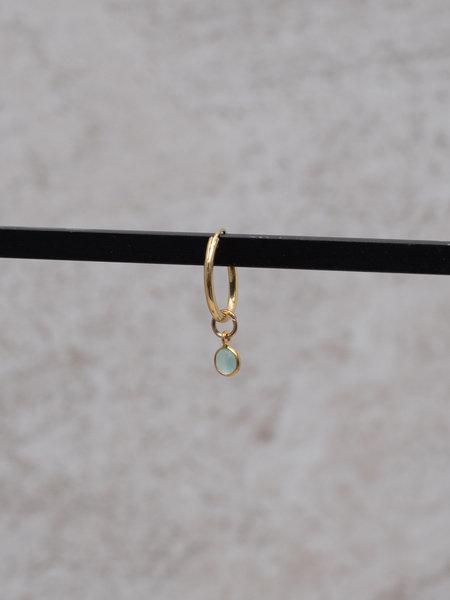 Ess Yello Simple Dot Earring Mint