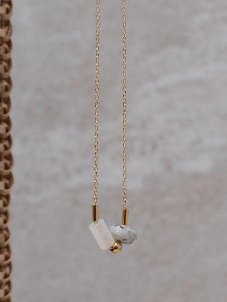 Ess Yello Necklace Dalmation Bead