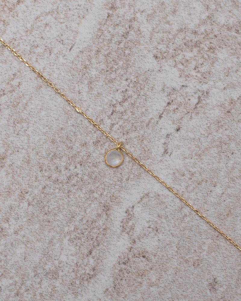 Necklace Mini Dot White Solo