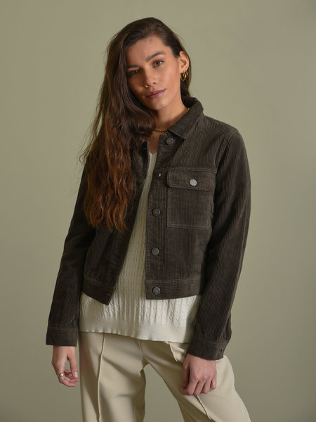 24Colours Cord Jacket Olive