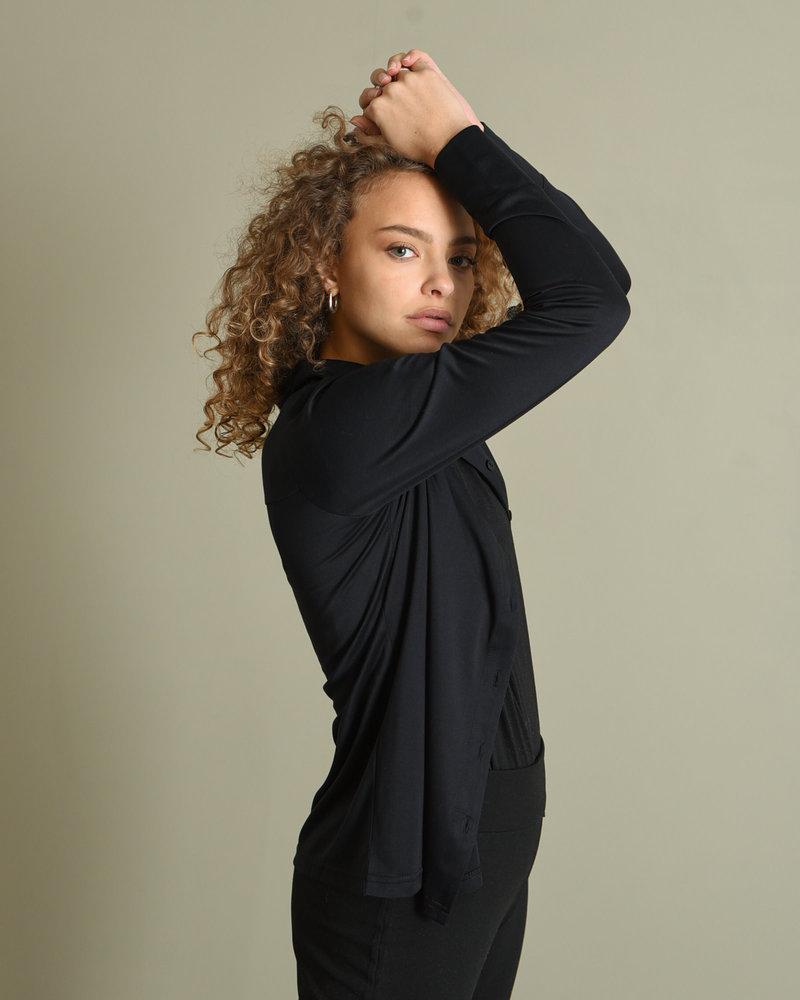 Mia Modal Shirt Black