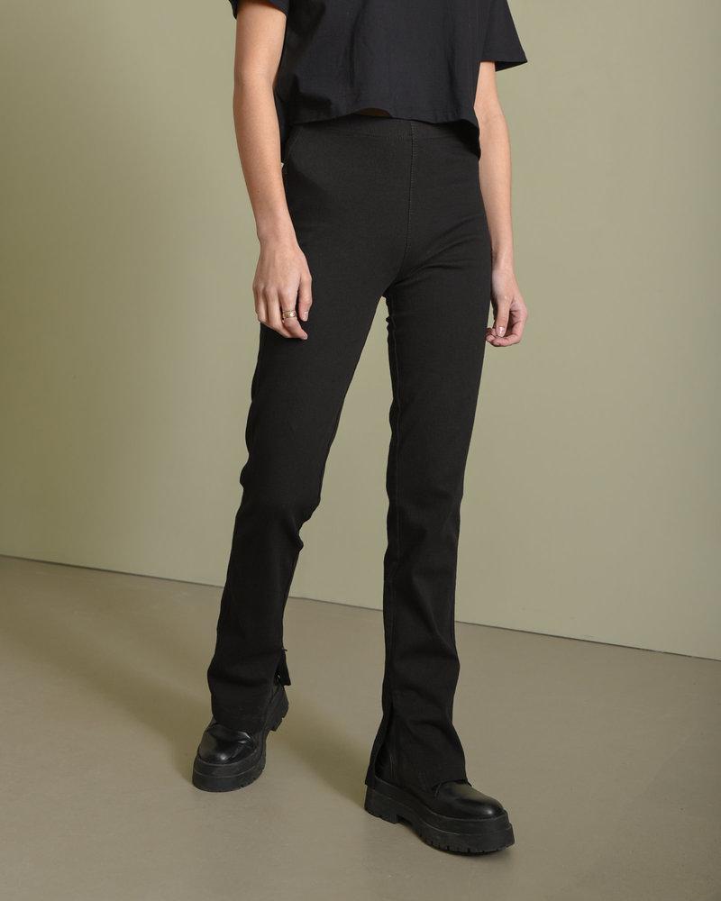 TILTIL Katie Split Jeans Black