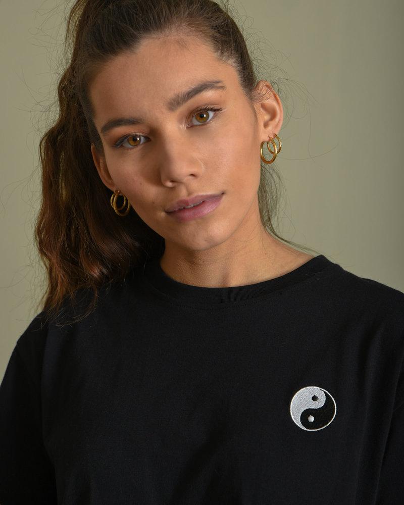 TILTIL Ying-Yang Tee Black