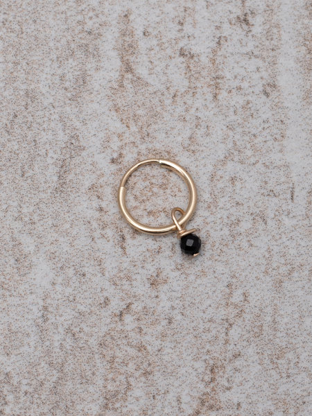 The Two Collectors Charm Onyx Goldfilled