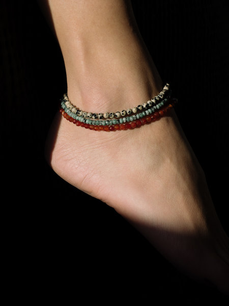 Dajumo Moonchild Ankle Bracelet Silver