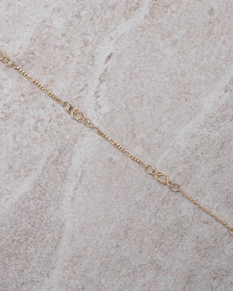Gold Bracelet Vintage Chain
