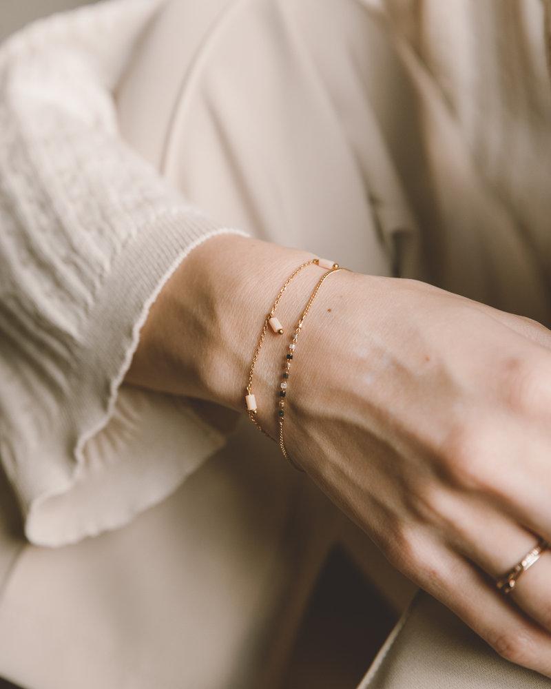 Coloured Beads Bracelet