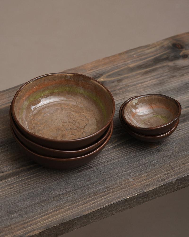 Bowl Todi Brown/Green