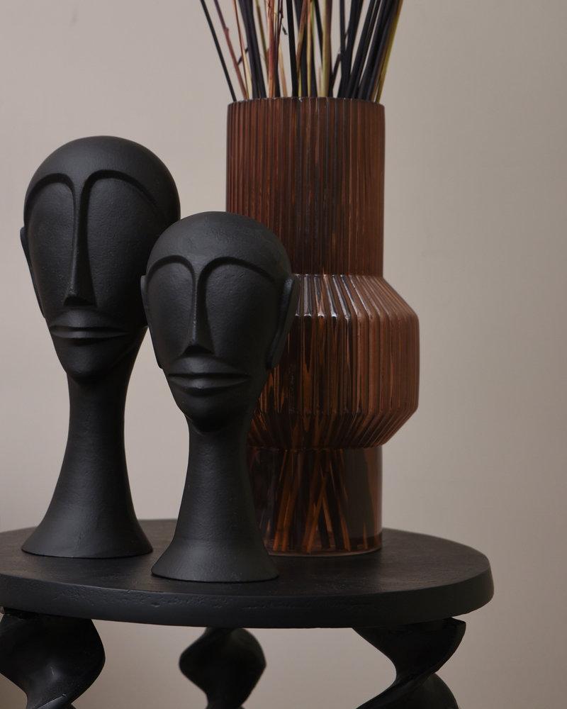 Ornament Black Head