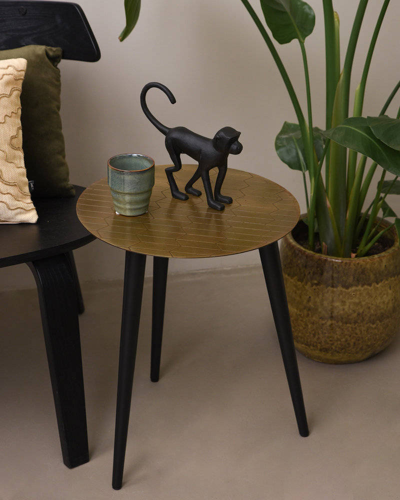 Side Table Wako Small Antique Bronze