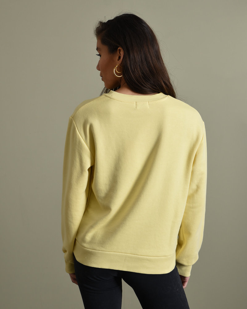 Basic Sweater Yellow