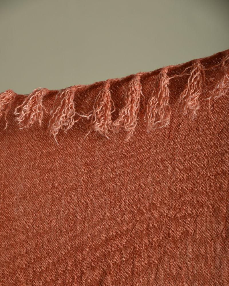 Plaid Linen Rust
