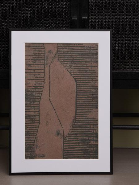 House Doctor Art Print Fields + Frame