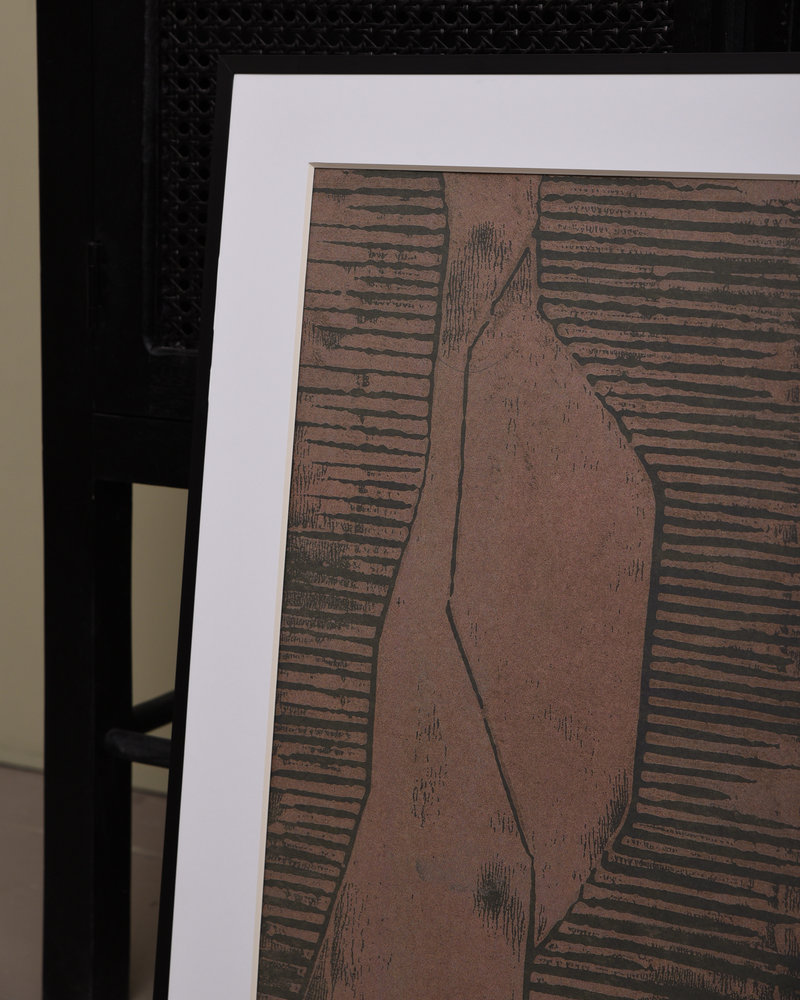 Art Print Fields + Frame