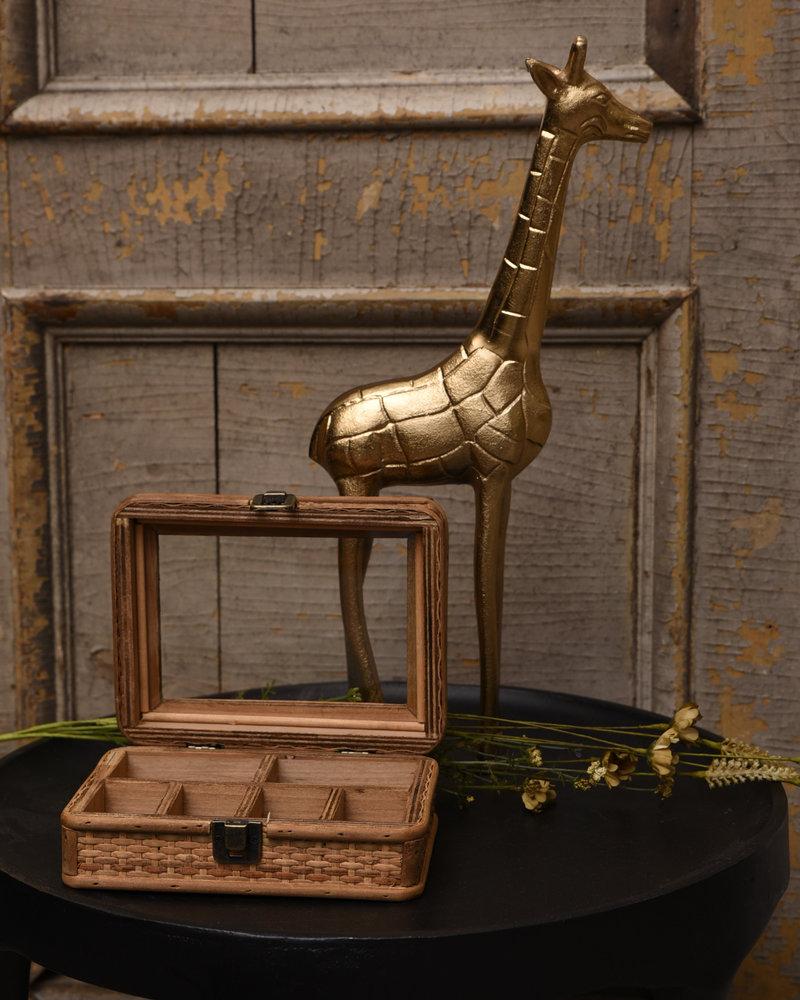 Giraffe Ornament Gold