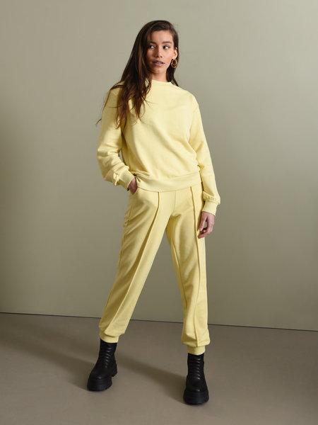NAKD Cropped Sweatpants Yellow