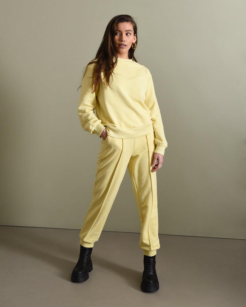 Cropped Sweatpants Yellow
