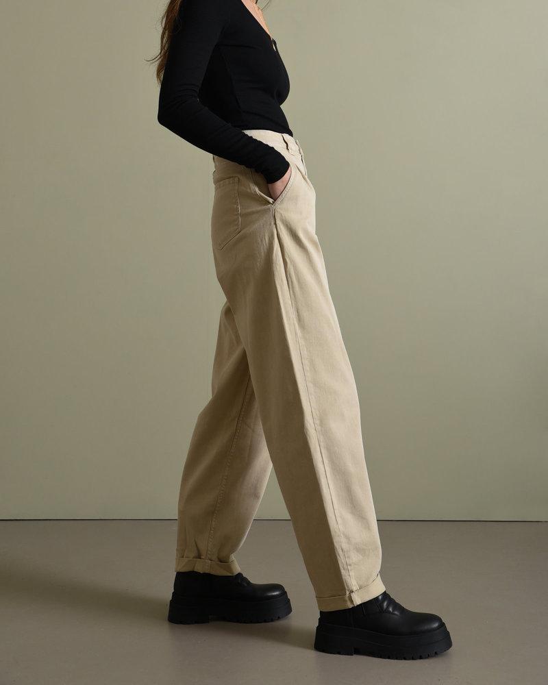 Chino Fold Up Ank Pants Chateau Grey