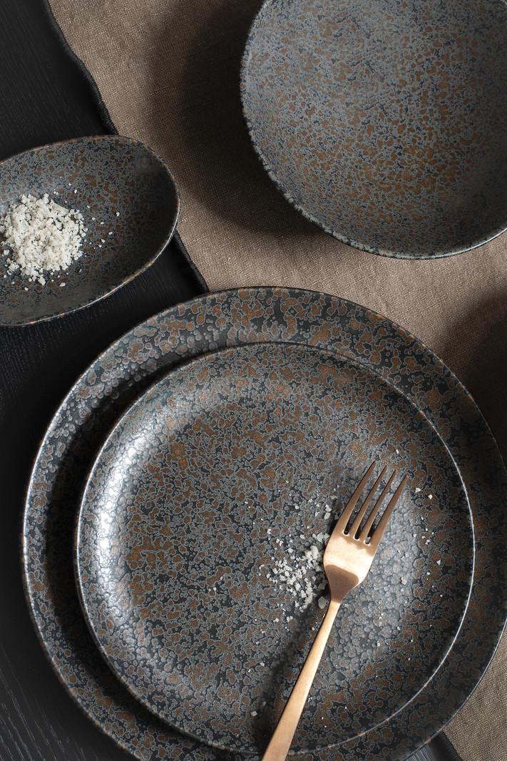 Dinner Plate Basalt Black