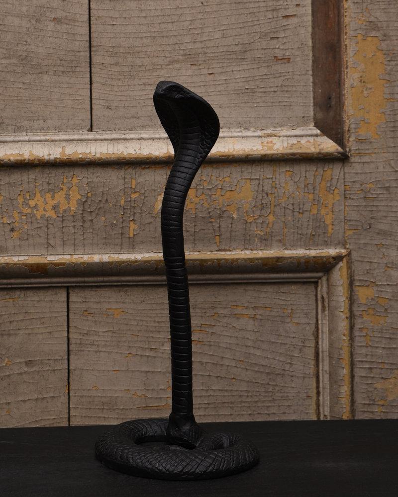 Snake Ornament Black