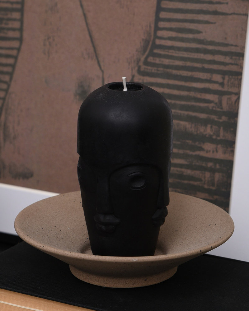 Candle Face Black