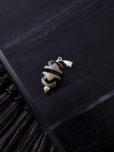 The Two Collectors Necklace Charm Tibet Silver