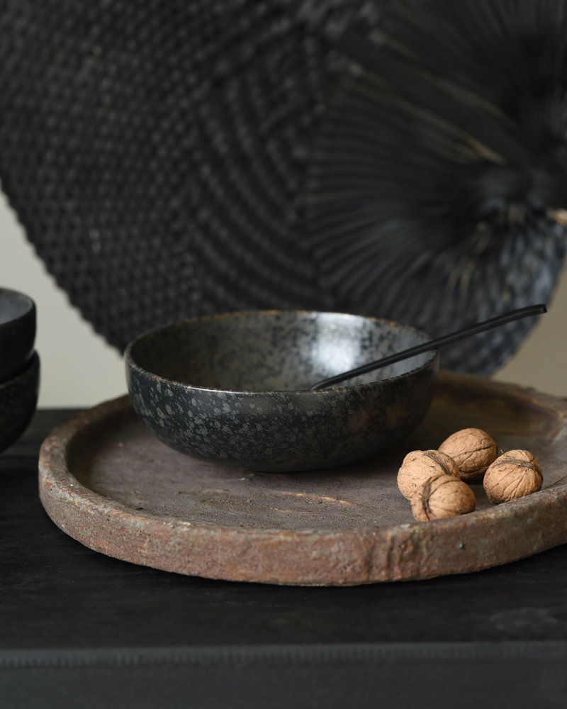 Big Soup Bowl Basalt Black