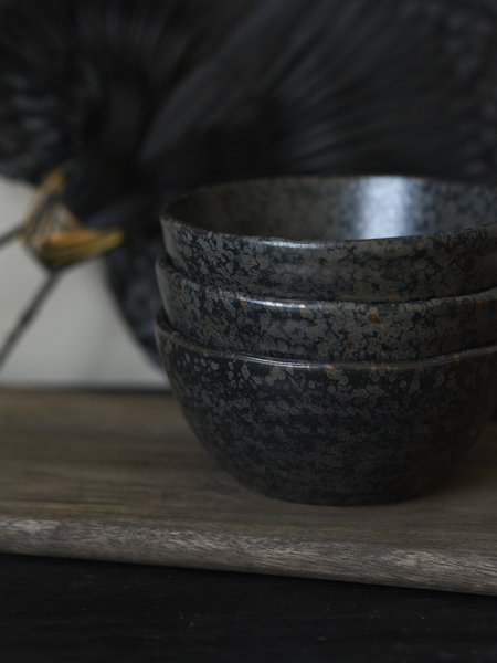 Pomax Small Bowl Basalt Black