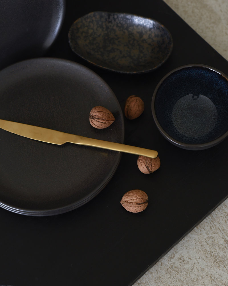 Breakfast Plate Mirha Granit Grey