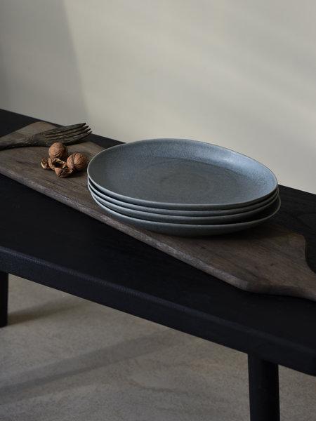 Pomax Dinner Plate Galet Blue/Grey