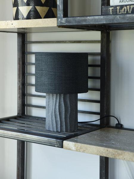 House Doctor Table Lamp Bora Grey + Shade