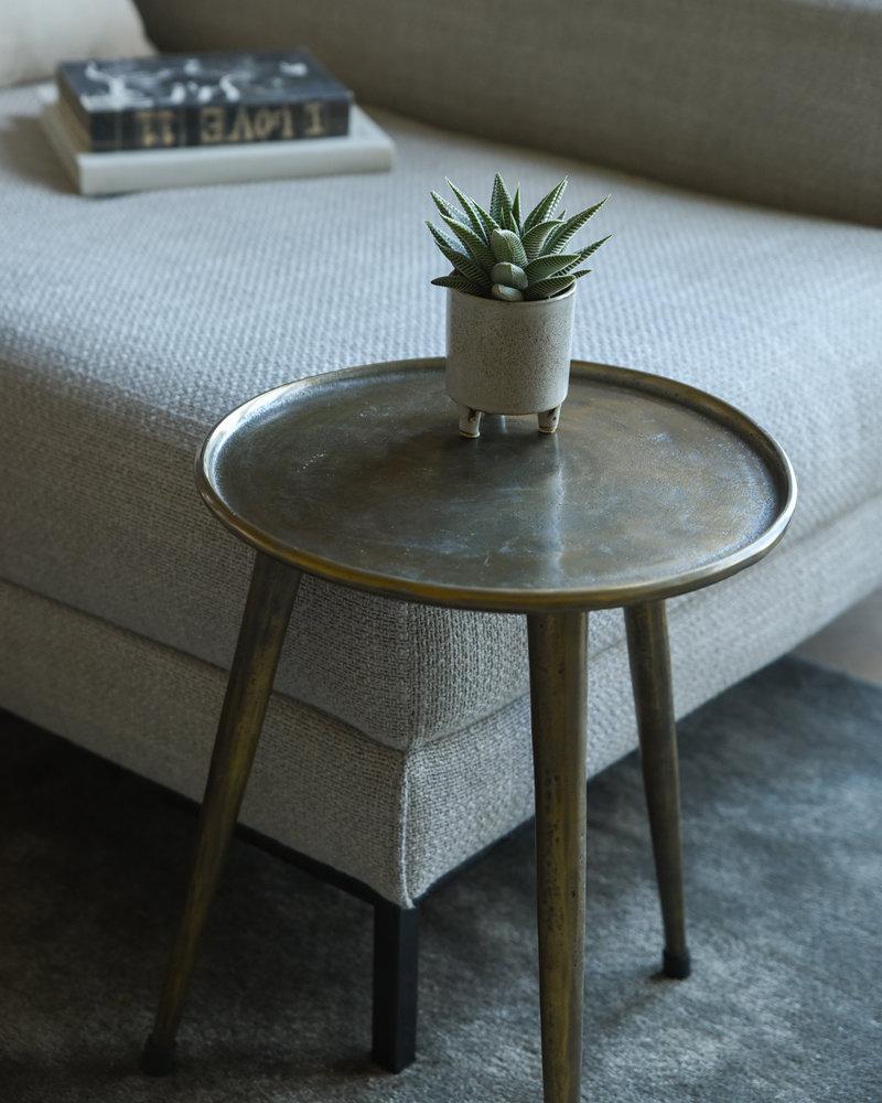 Side Table Kach Antique Bronze