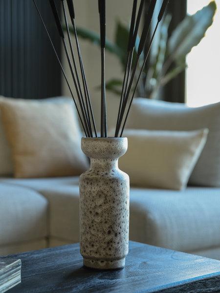 HK Living Retro Vase Lava Brown