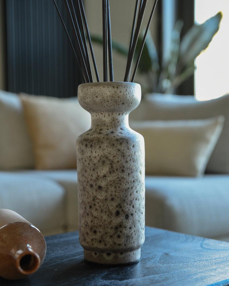 Retro Vase Lava Brown