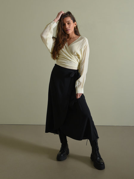 Things I Like Things I Love TILTIL Maci Maxi Skirt Black