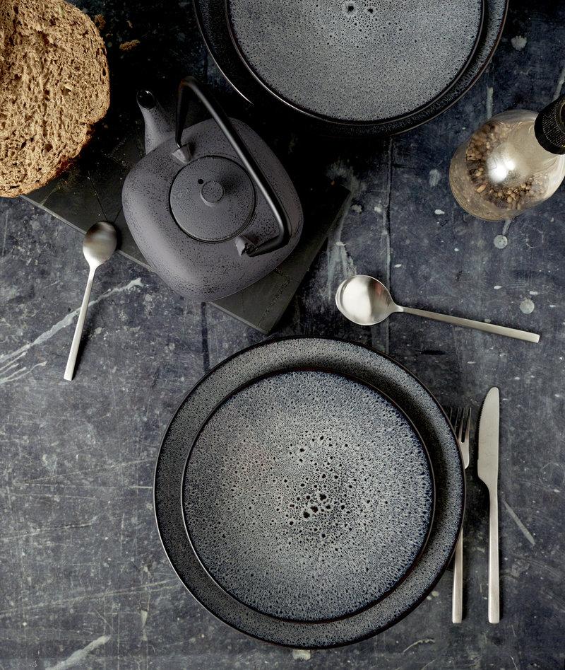 Mirha Soup Plate Grey